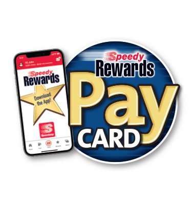 Speedy Rewards Pay Card